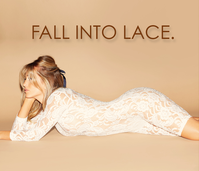 FALL INTO LACE